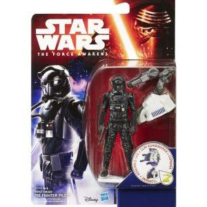 Star wars the force awakens jungle space wave 1 first order tie fighter pilot 10cm