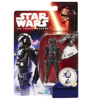 Star Wars Le Réveil de la Force figurine 2015 Jungle/Space Wave 1 First Order TIE Fighter Pilot 10 cm