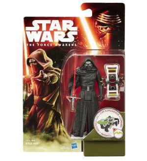 Star wars the force awakens jungle space wave 1 kylo ren 10cm