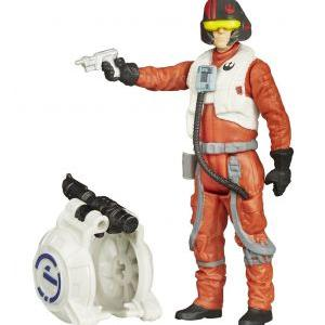 Star wars the force awakens jungle space wave 1 poe dameron 10cm 1