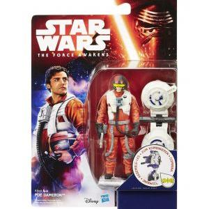 Star wars the force awakens jungle space wave 1 poe dameron 10cm