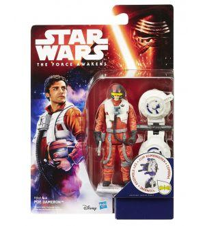 Star Wars Le Réveil de la Force figurine 2015 Jungle/Space Wave 1 Poe Dameron 10 cm