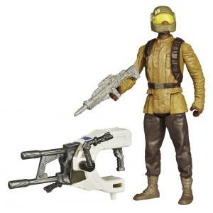 Star wars the force awakens jungle space wave 1 resistance trooper 10cm 1