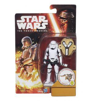 Star Wars Le Réveil de la Force figurine  2015 Snow/Desert Wave 1 First Order Flametrooper 10 cm