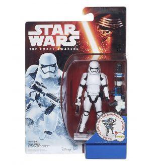 Star Wars The Force Awakens figurine 2015 Snow/Desert Wave 1 First Order Stormtrooper 10 cm