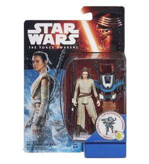 Star Wars Le Réveil de la Force  figurine  2015 Snow/Desert Wave 1 Rey (Starkiller Base) 10 cm