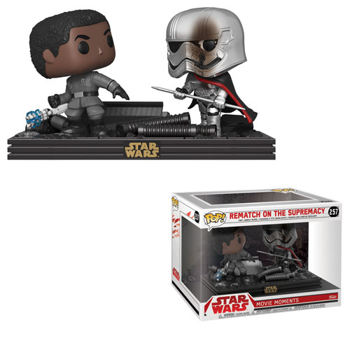 Star wars the last jedi funko pop movie moment rematch on the supremacy vinyl figure