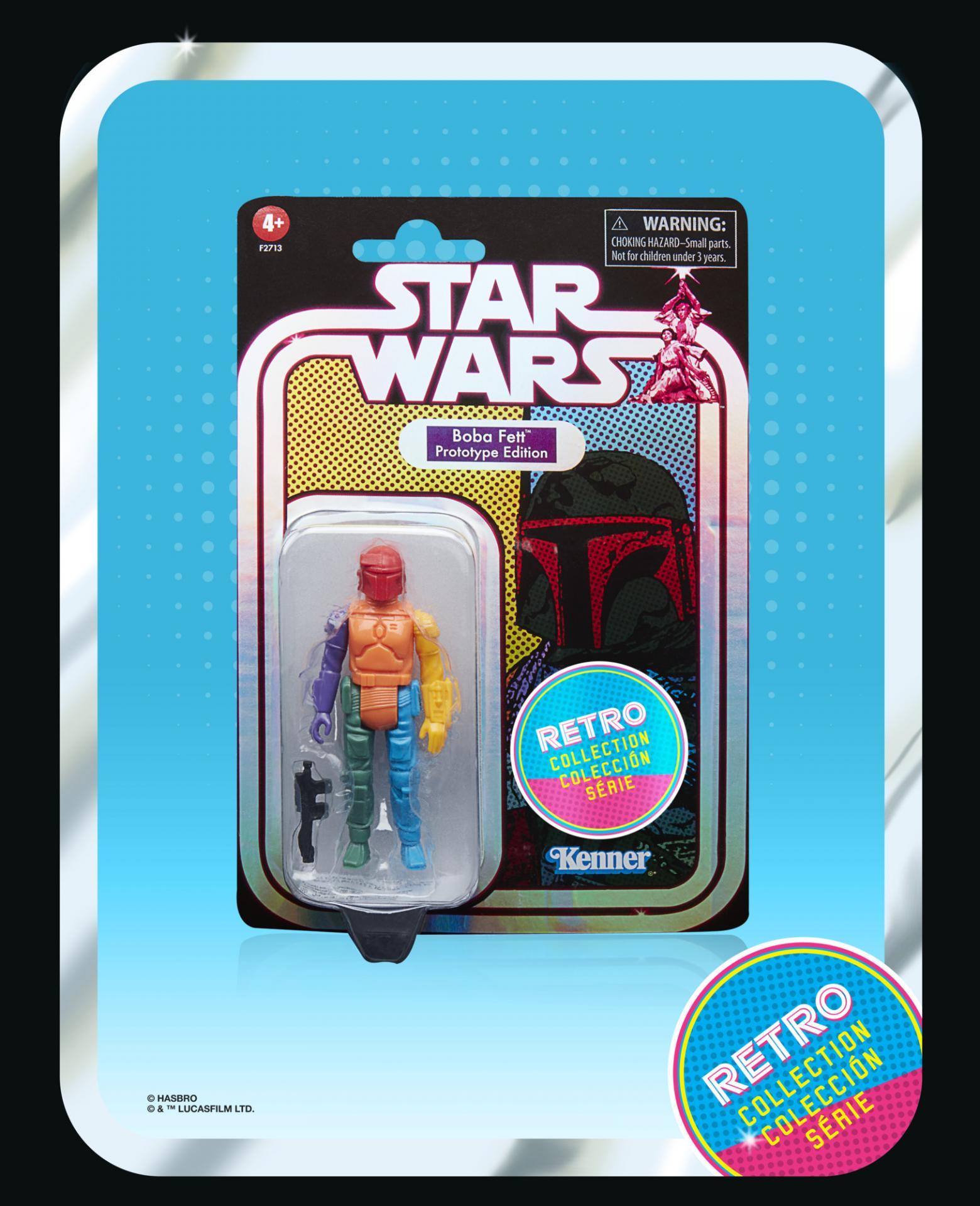 Star wars the retro collection boba fett prototype edition