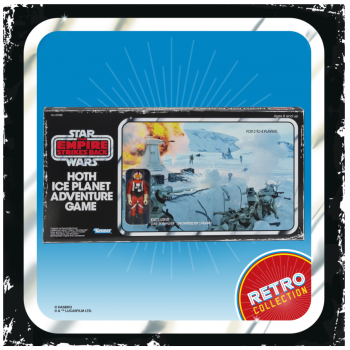 STAR WARS - THE RETRO COLLECTION - Hoth Ice Planet Retro Game - Anglais