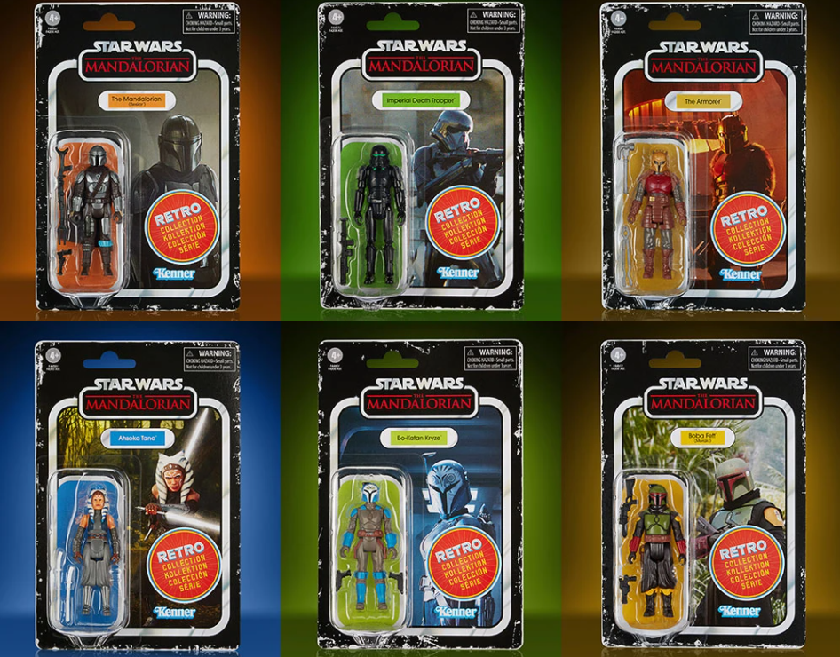 Star wars the retro collection the mandalorian serie 2