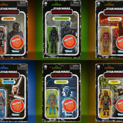 STAR WARS - THE RETRO COLLECTION - The Mandalorian serie 2