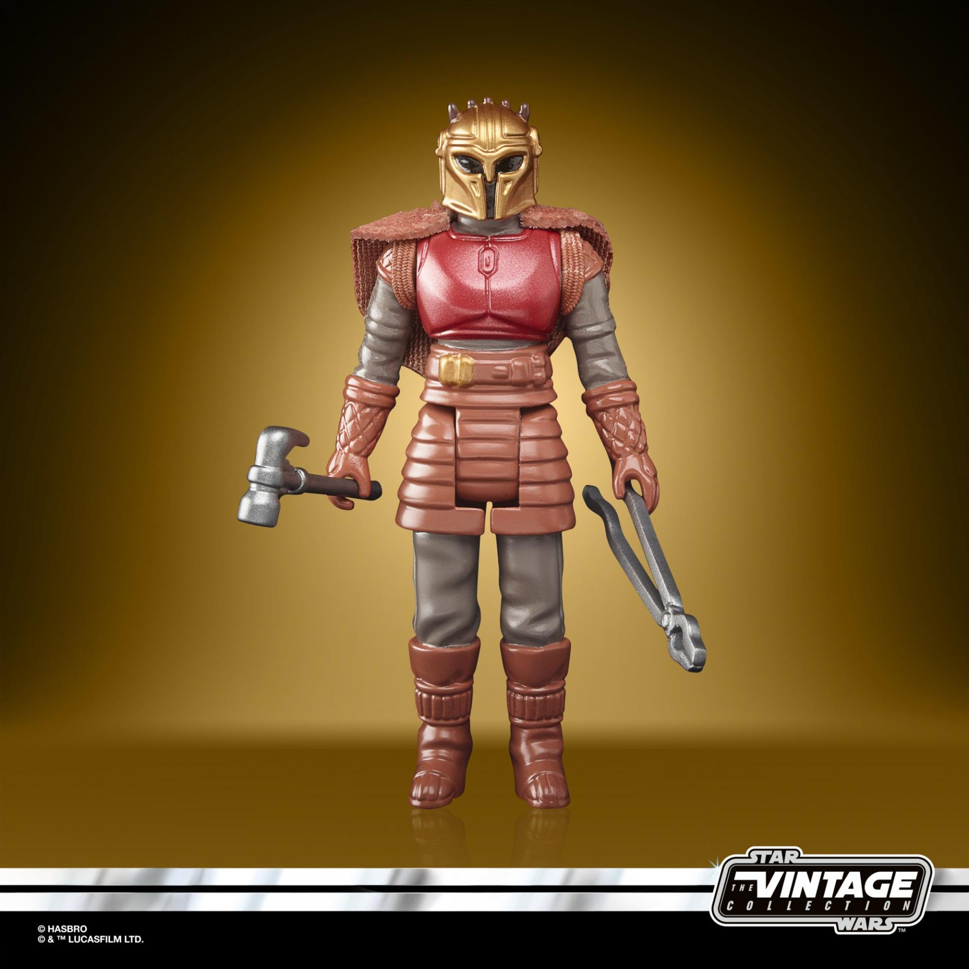 Star wars the retro collection the mandalorian the armorer