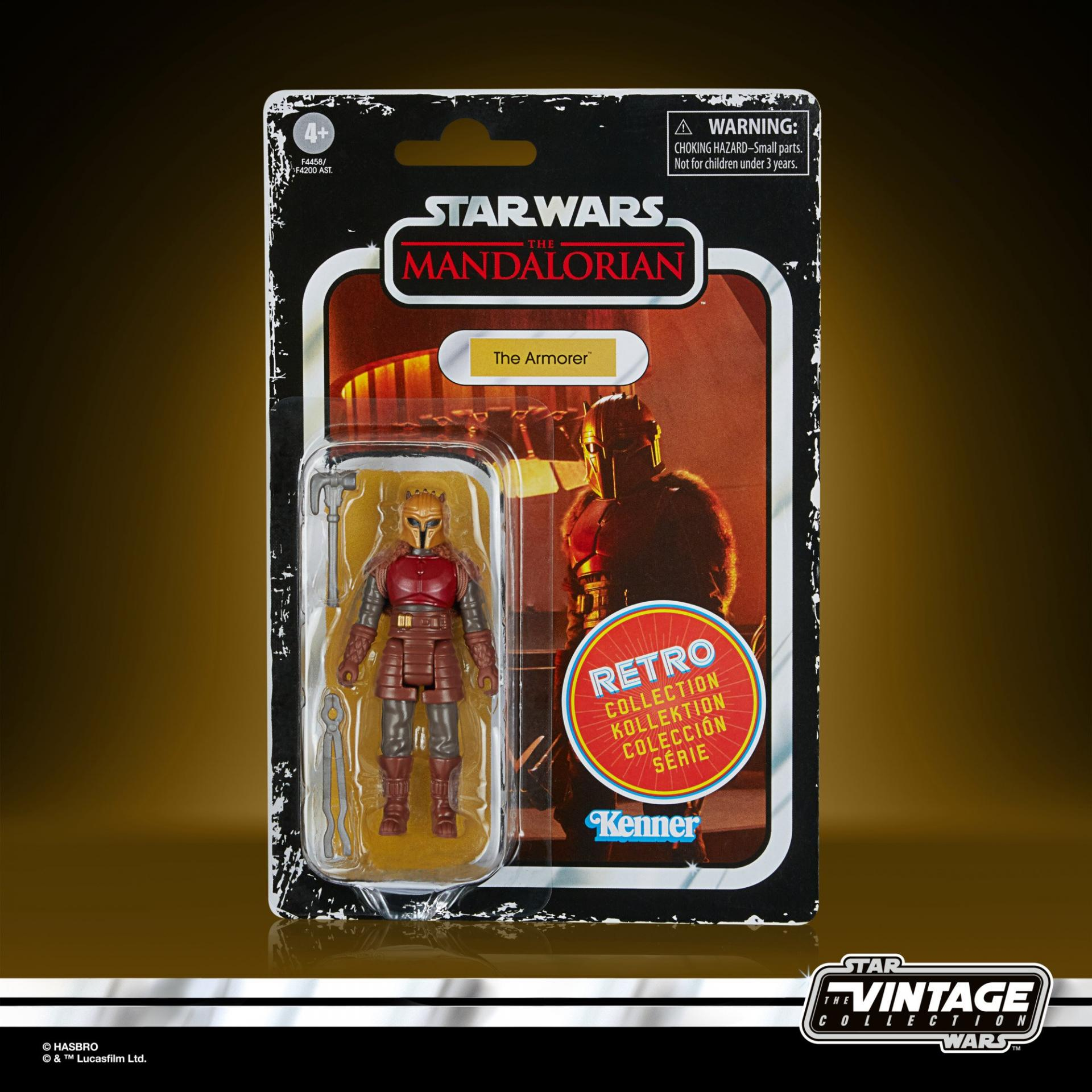 Star wars the retro collection the mandalorian the armorer4