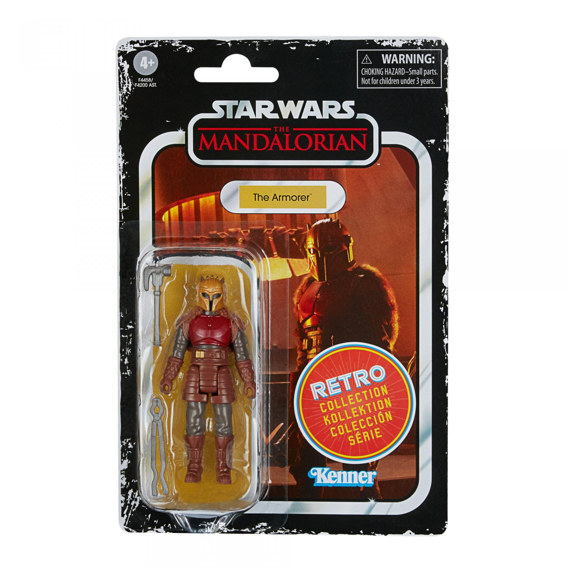 Star wars the retro collection the mandalorian the armorer6