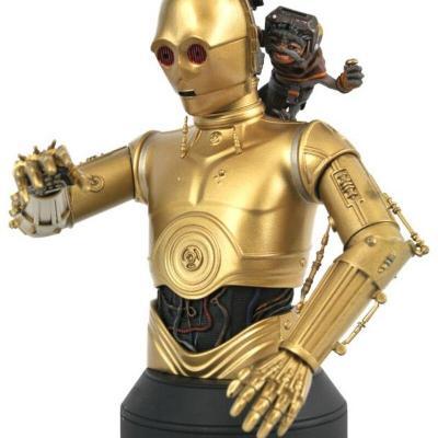 Star Wars - The Rise Of Skywalker - Gentle Giant - C3Po & Babu Frik 1/6 Buste