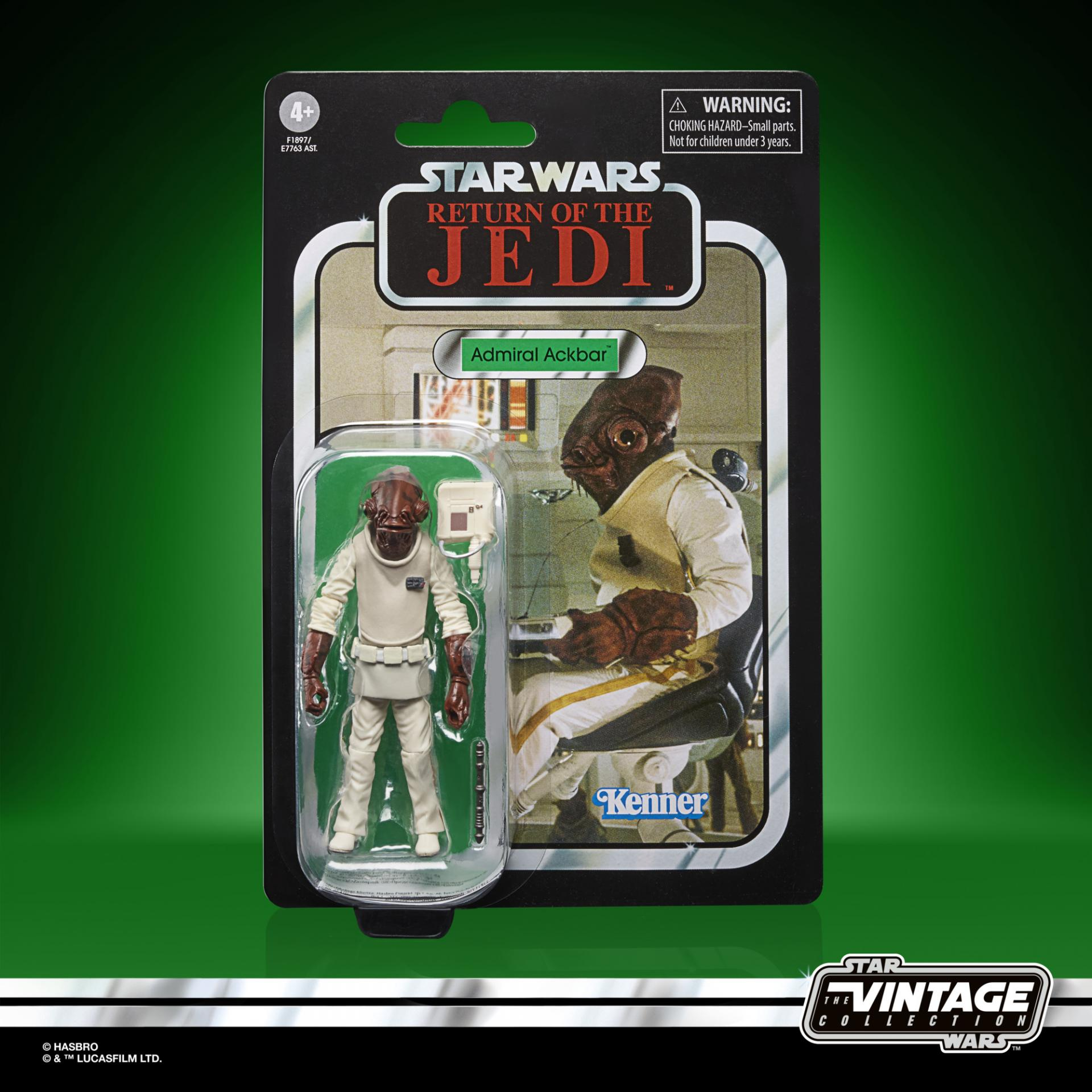 Star wars the vintage collection admiral ackbar