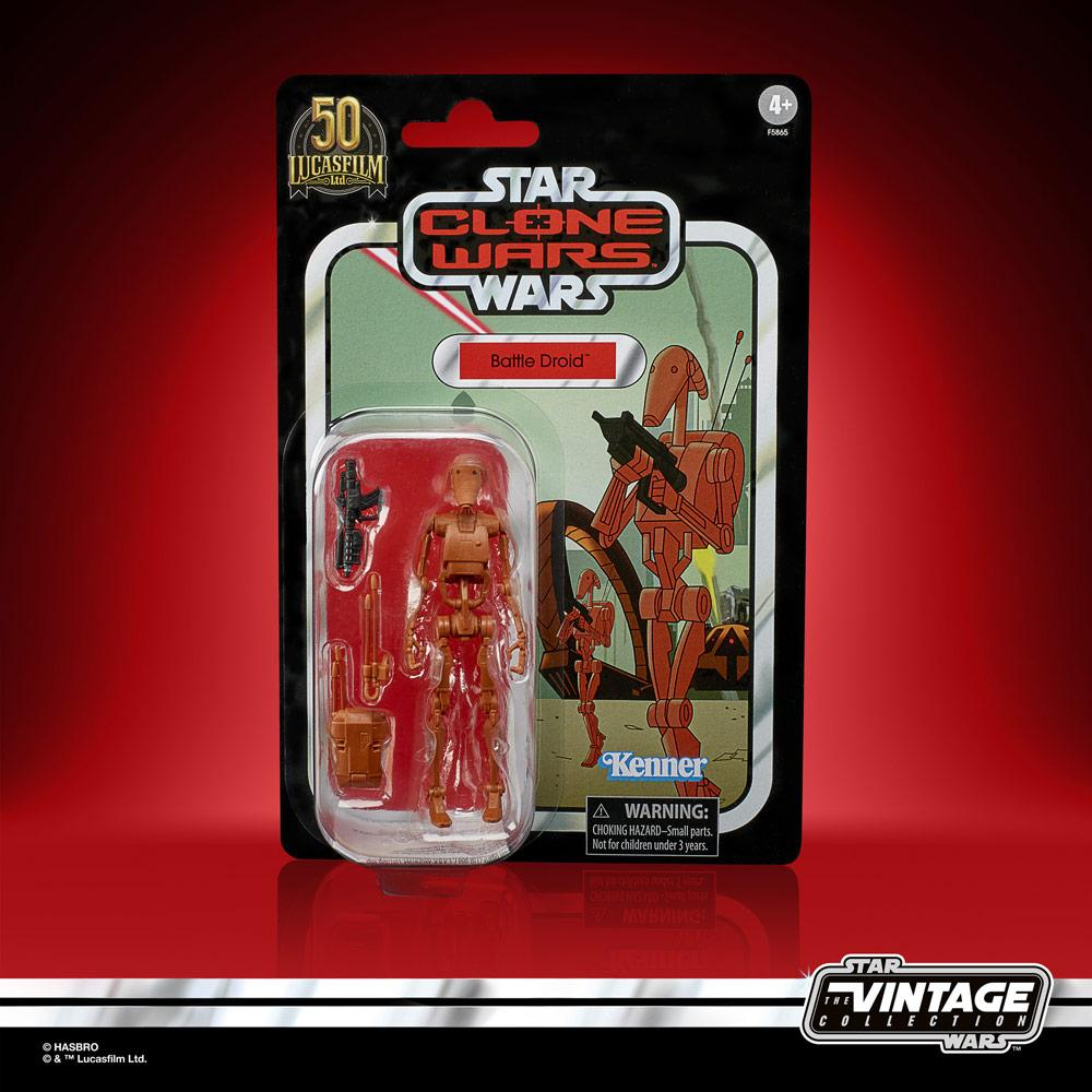 Star wars the vintage collection battle droid