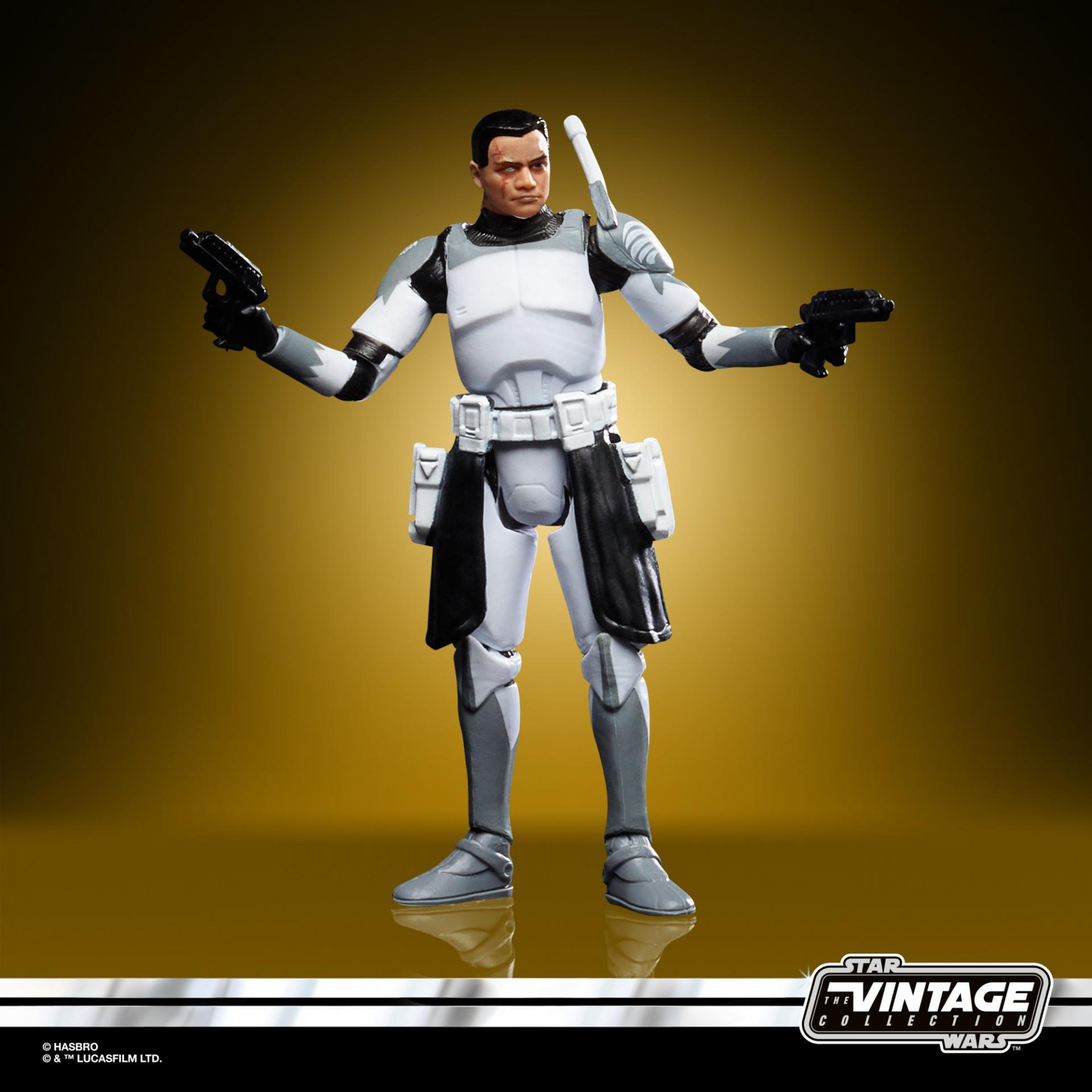 Star wars the vintage collection clone commander wolffe3