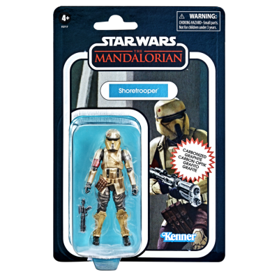 STAR WARS - THE VINTAGE COLLECTION - Collection Carbonized Shoretrooper