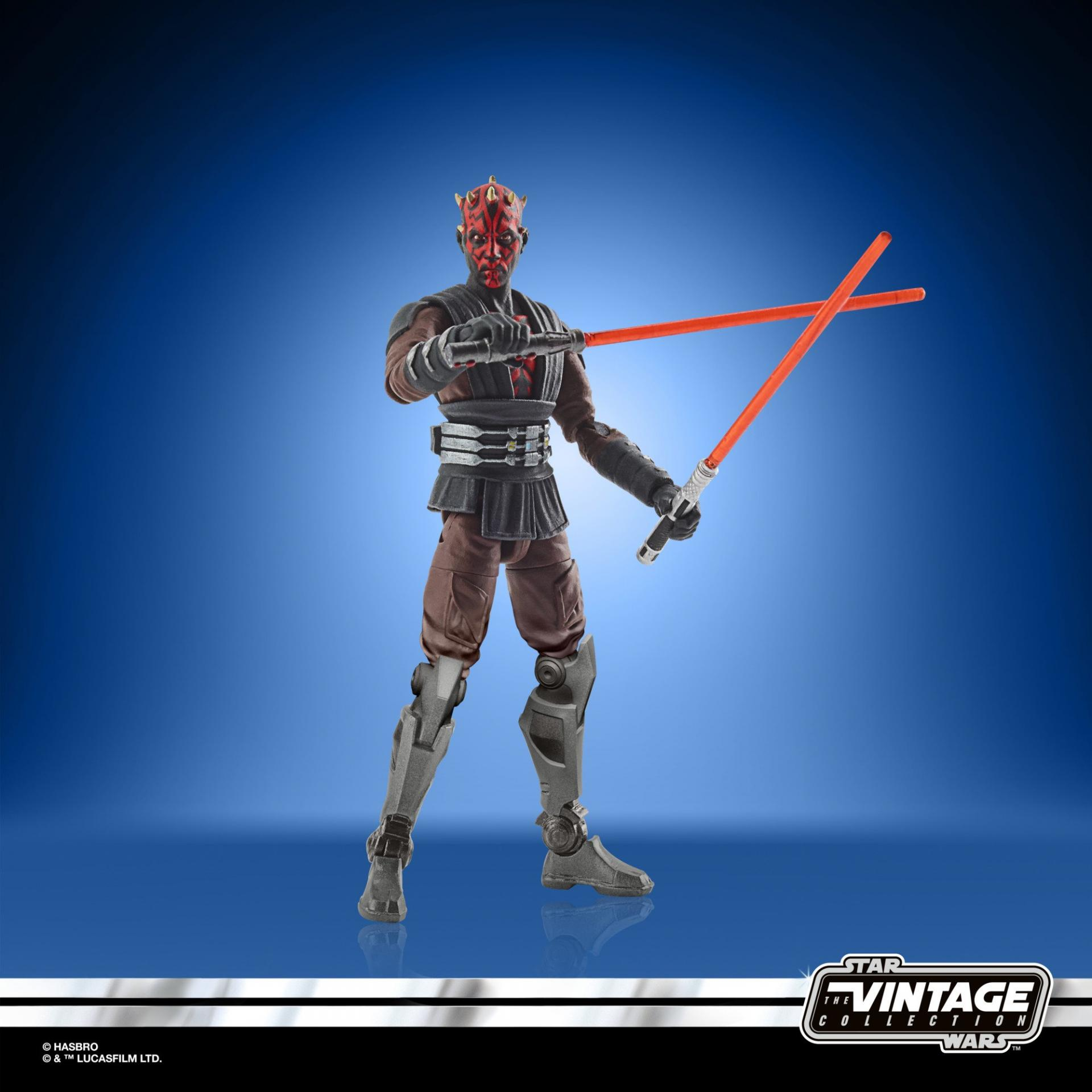 Star wars the vintage collection darth maul mandalore 8