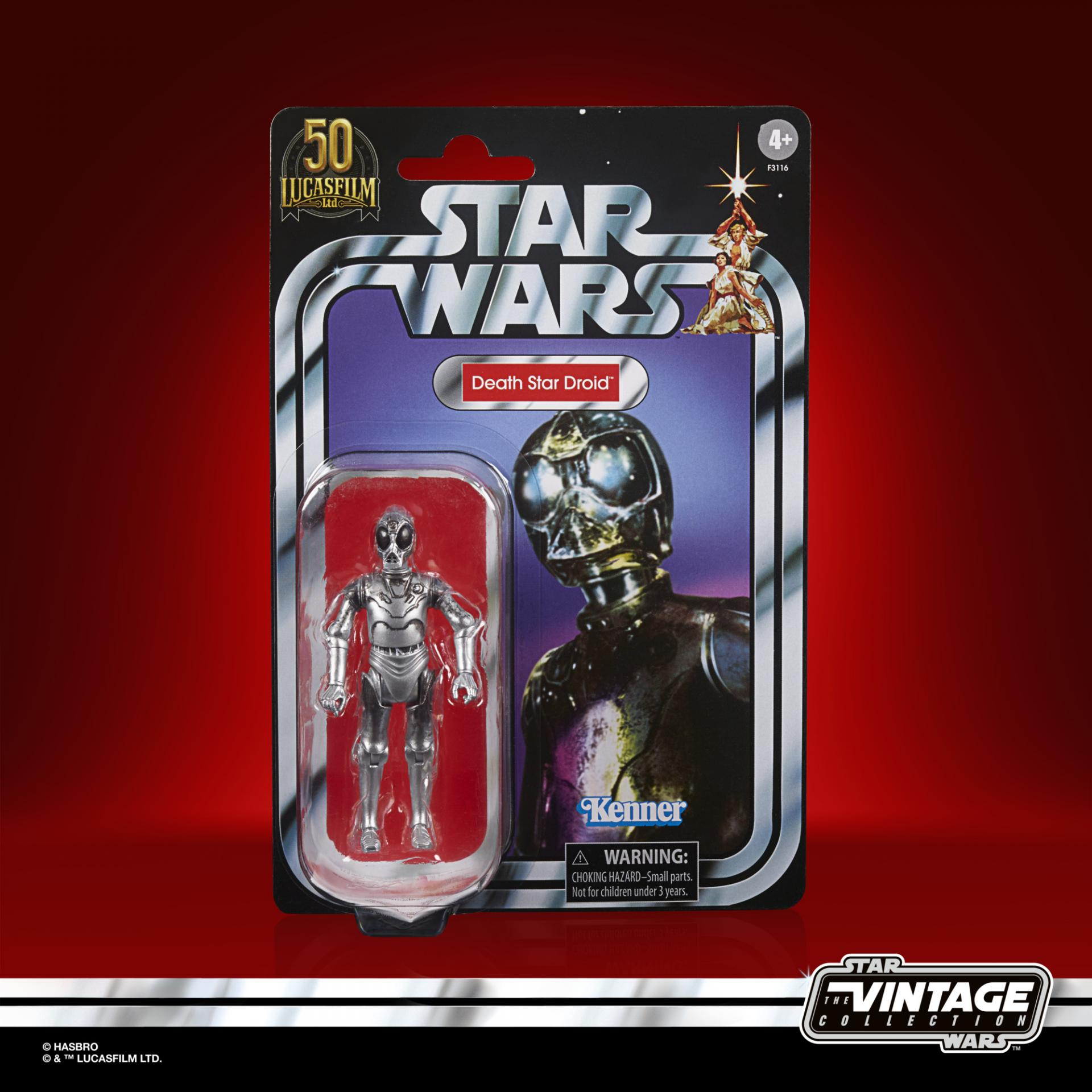 Star wars the vintage collection death star droid