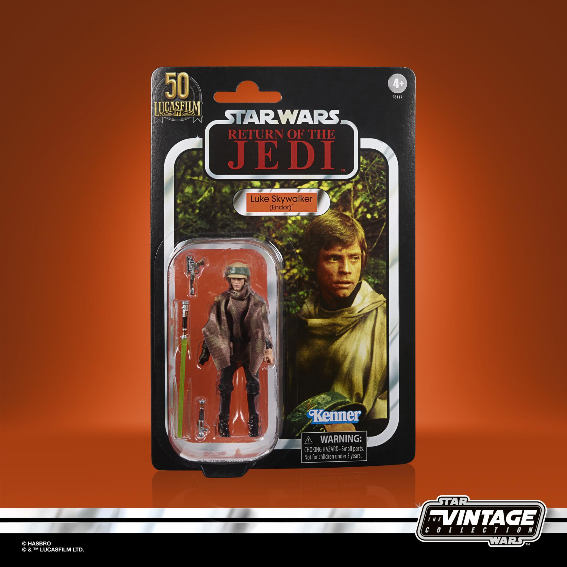 Star wars the vintage collection luke skywalker endor 1