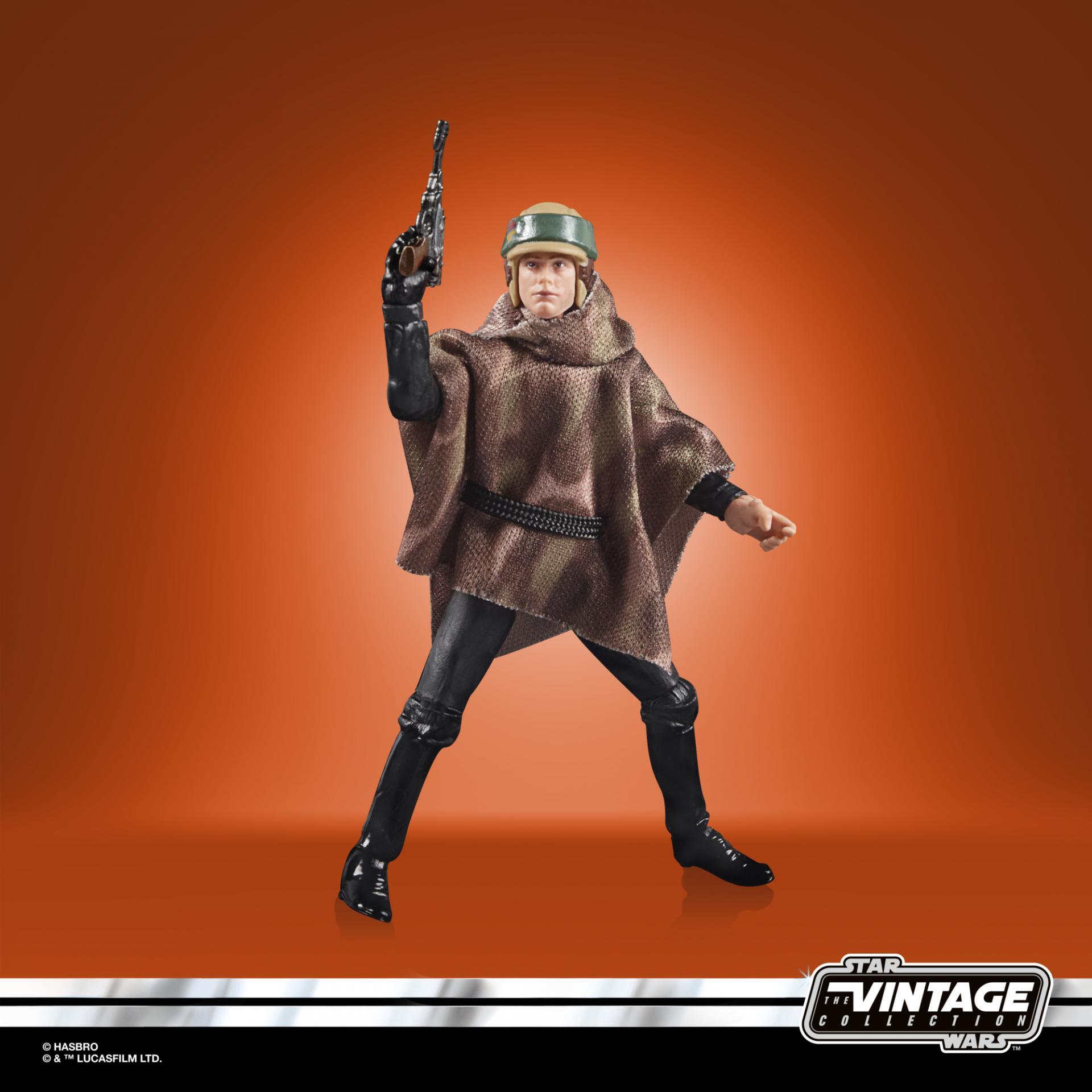 Star wars the vintage collection luke skywalker endor 4