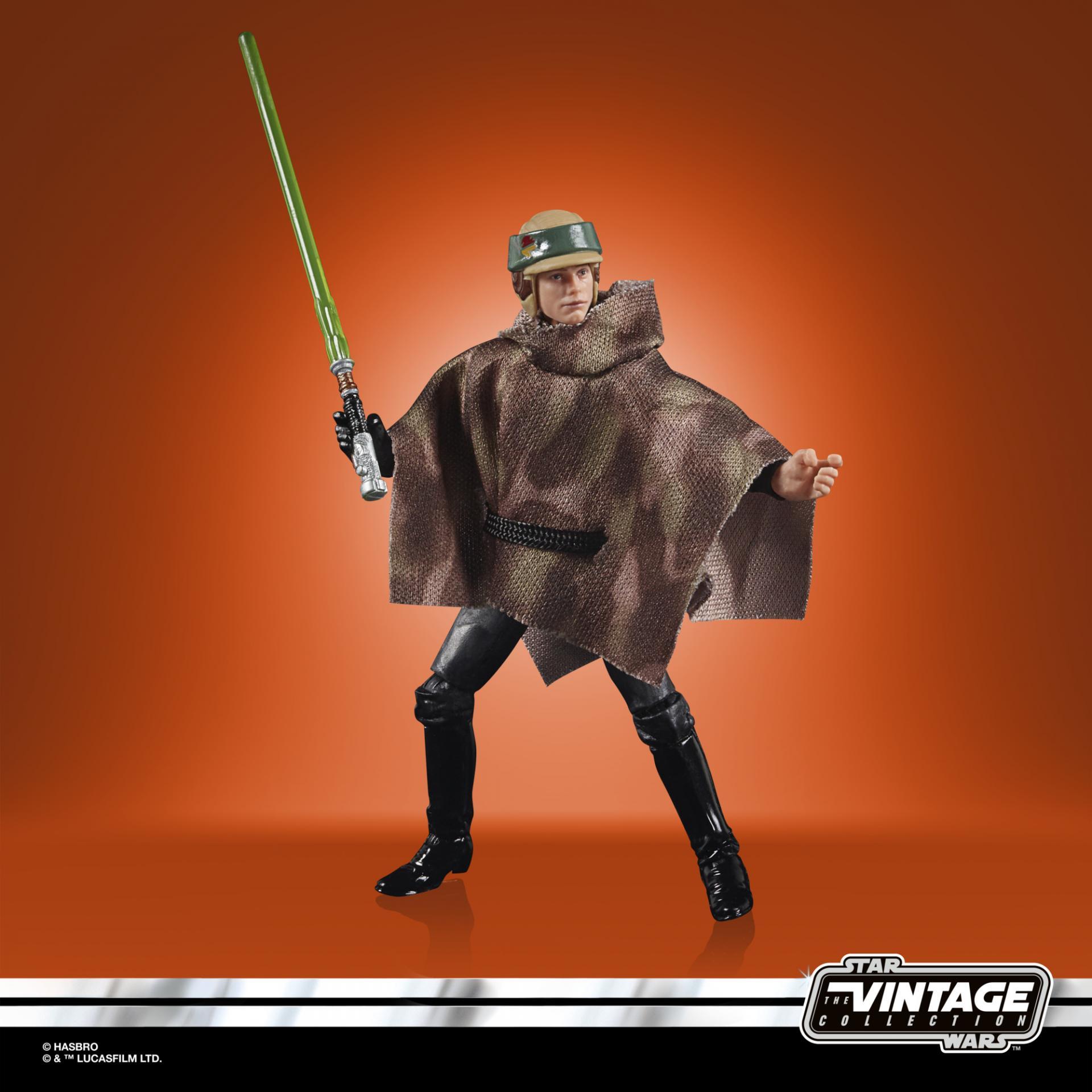 Star wars the vintage collection luke skywalker endor 7