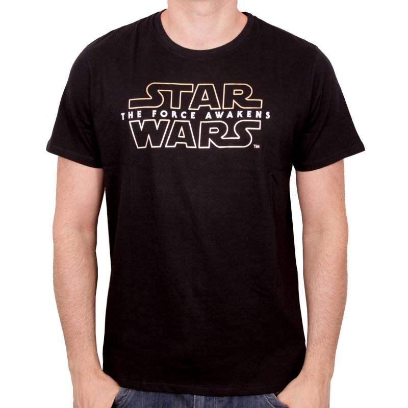 Star wars tshirt the force awakens logo