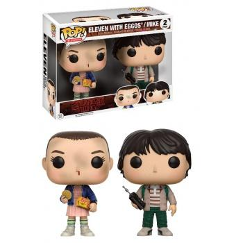 STRANGER THINGS - Funko POP Television - Eleven with Eggos/ Mike Vinyl Figure 2-Pack 10cm limited