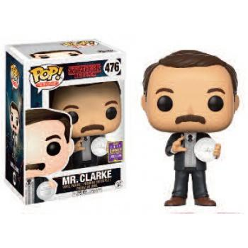 STRANGER THINGS - Funko POP Television - Mr. Clarke Vinyl Figure 10cm SDCC 2017 limited