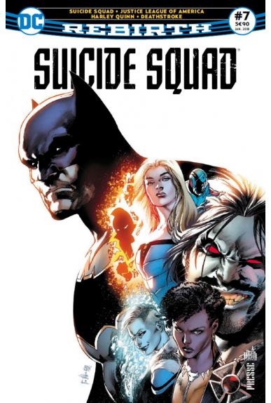 Suicide squad rebirth 7 urban comics