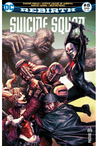 Suicide squad rebirth 8 urban comics