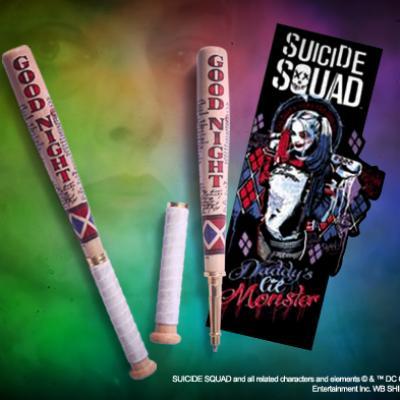 SUICIDE SQUAD - Stylo batte de Baseball et marque-pages - DC Comics