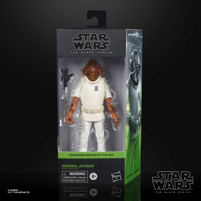 STAR WARS - THE BLACK SERIES - E6 ADMIRAL ACKBAR 6
