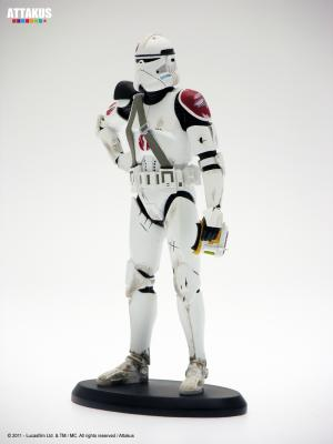 STAR WARS Commander Neyo (Waiting for the Enemy) Elite collection 1/10 Attakus 19cm