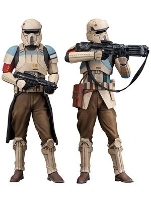 Star Wars ARTFX+ Serie Rogue One Shoretrooper Squad Leader & Captain 2-Pack 1/10 Scale 18cm