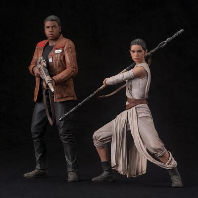 Star Wars ARTFX+ Episode VII - Rey & Finn 2 Pack