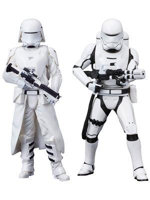 Star Wars ARTFX+ Episode VII - The Force Awakens - First Order Snowtrooper & Flametrooper 2 Pack