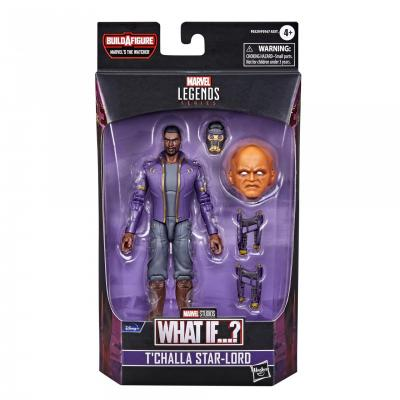 MARVEL LEGENDS Series - HASBRO - What If...? T'Challa Star-Lord