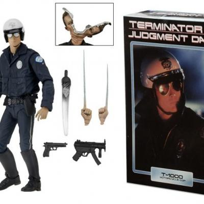 Terminator 2 - NECA - T-1000 Motorcycle Cop Ultimate Action Figure 18cm