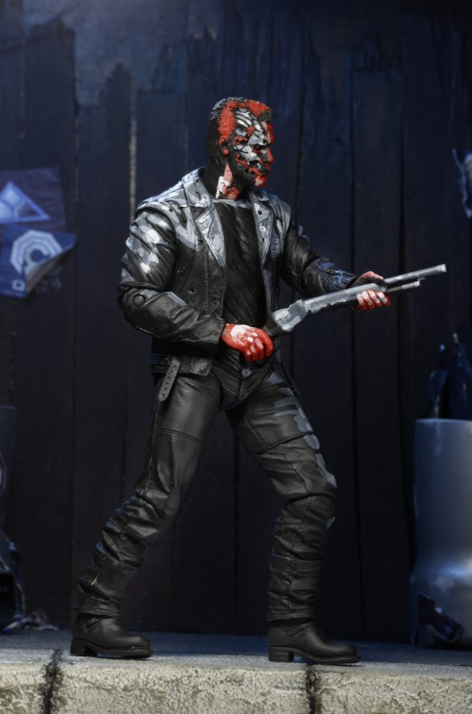 Terminator 2 neca judgment day t 800 video game appearance action figure 18cm2