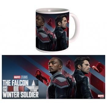 The falcon winter soldier mug poster