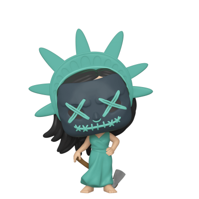THE PURGE - Funko POP TV - Lady Liberty (Election Year) Vinyl Figure 10cm