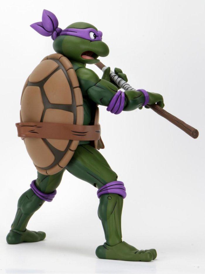 Tortue ninja tmnt cartoon neca giant size donatello5