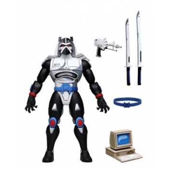 "TMNT - Cartoon - NECA - Ultimate Chrome Dome- 7"" Scale Action Figure"