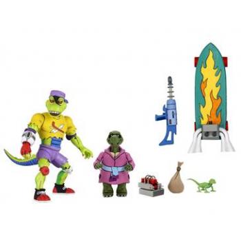 "TMNT - Cartoon - NECA - Ultimate Mondo Gecko - 7"" Scale Action Figure"