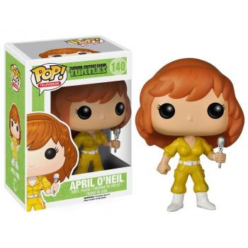 TORTUES NINJA Figurine POP TV - April O'Neil Vinyl Figure 10cm