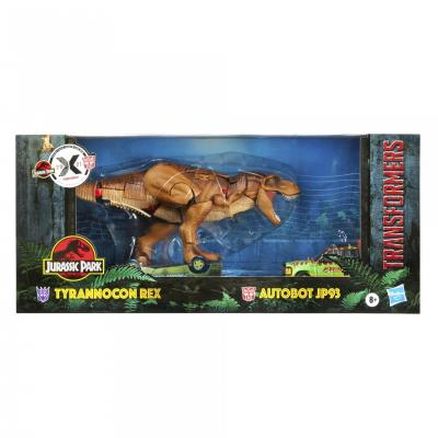 TRANSFORMERS Collaborative - Hasbro - Jurassic Park Mash-Up, Tyrannocon Rex & Autobot JP93