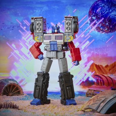 Transformers hasbro generations legacy series leader g2 universe laser optimus prime